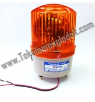 Lampu Rotary  Warning light 220 Volt AC plus Buzzer