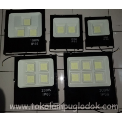 Lampu Sorot LED 50, 100, 150, 200, & 300 Watt AUTOLED